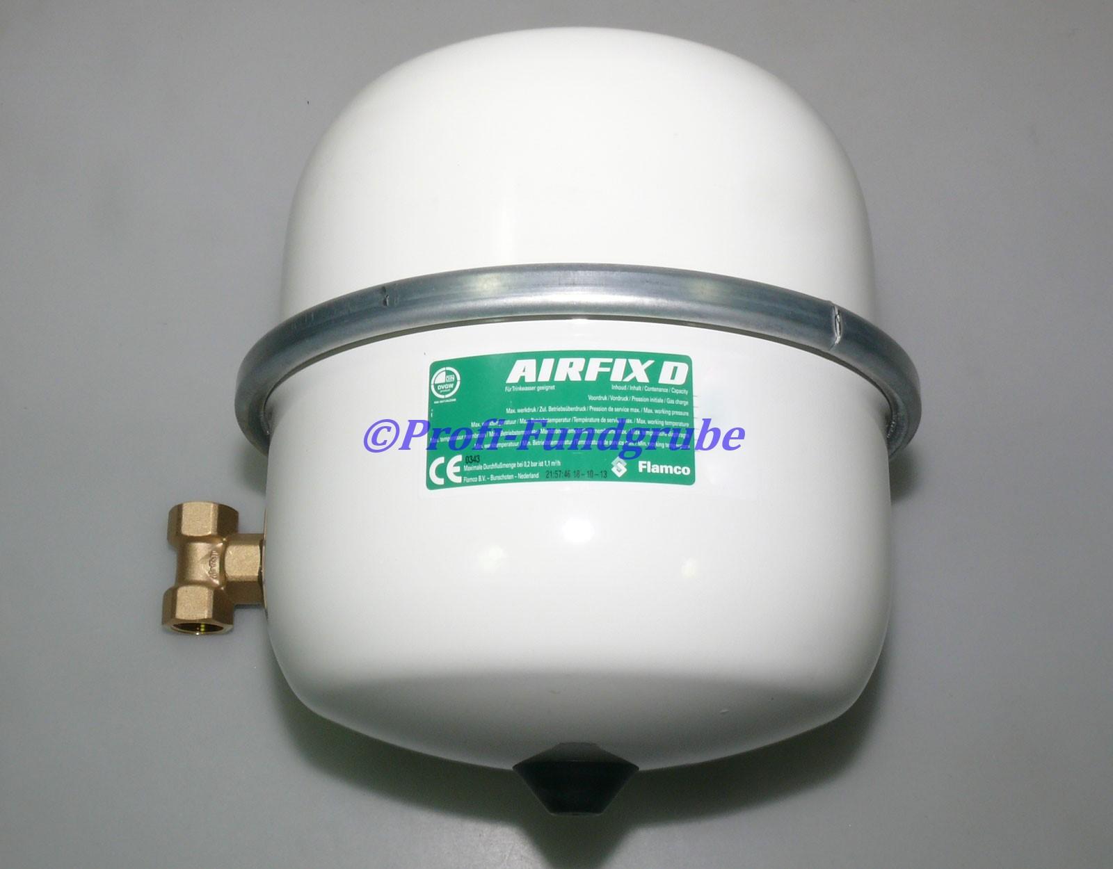 flamco airfix d ausdehnungsgef 12 liter trinkwasser ausdehnungsgef ss kaufen bei. Black Bedroom Furniture Sets. Home Design Ideas