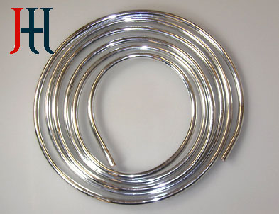 kupferrohr verchromt 10mm 5 meter ring chrom rohr ebay. Black Bedroom Furniture Sets. Home Design Ideas
