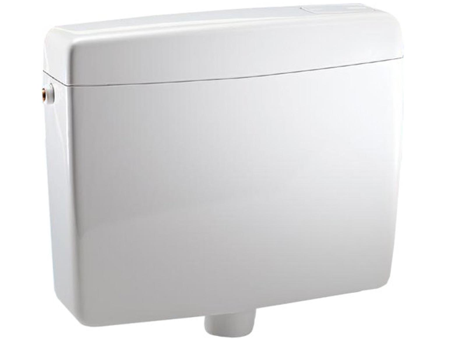 sanit aufputz wc sp lkasten nova 6 9 liter start stop spartaste ersatz geberit ebay. Black Bedroom Furniture Sets. Home Design Ideas